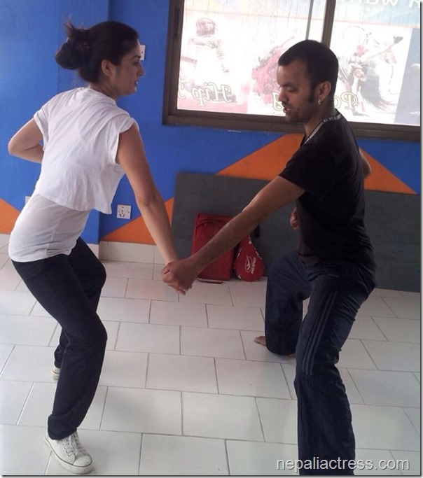 garima pant - thuli fight training (4)