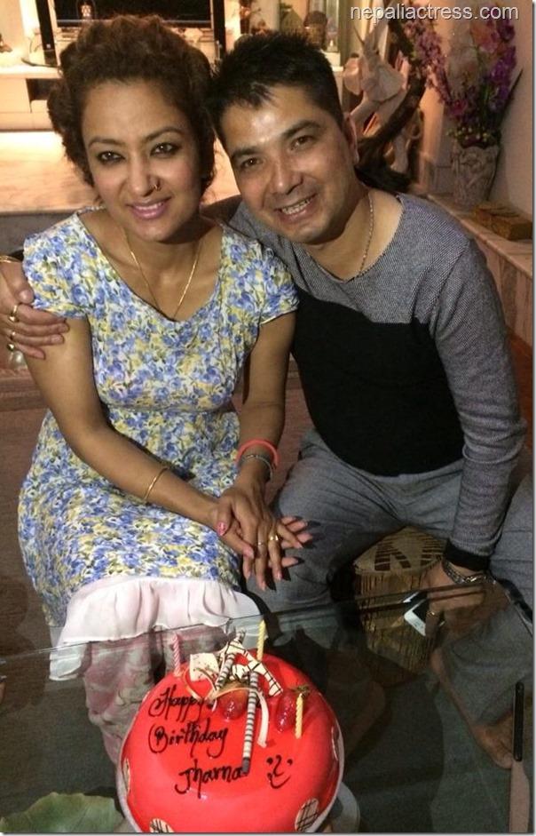 jharana thapa birthday cake (3)