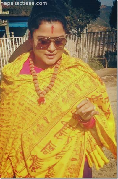 rekha thapa himmatwali shooting (2)