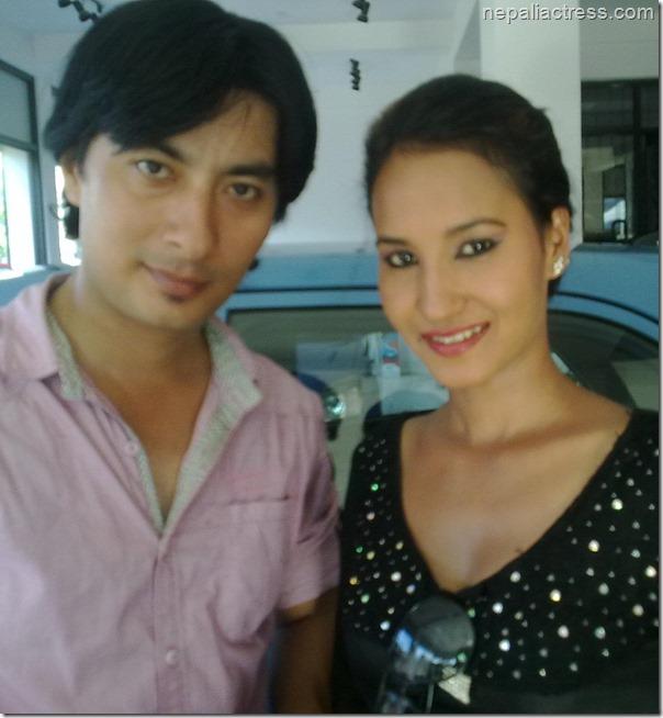 bina thapa with divorce actor