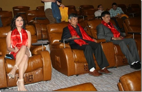madan-krishna-shrestha-and-haribansha-acaharya-nisha-adhikari-watch-cinema-