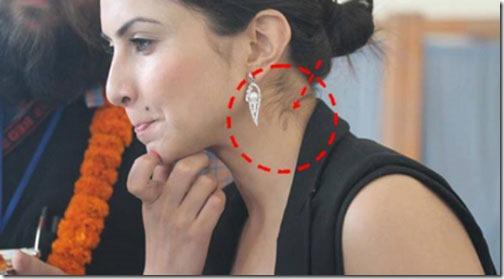 nisha adhikari love bite