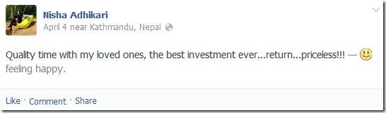 nisha adhikari - loved ones