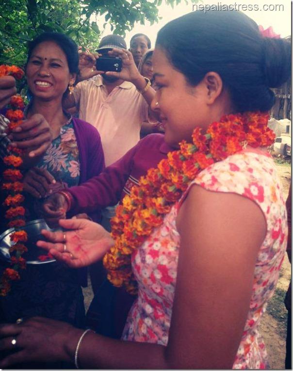 rekha thapa in mahendranager
