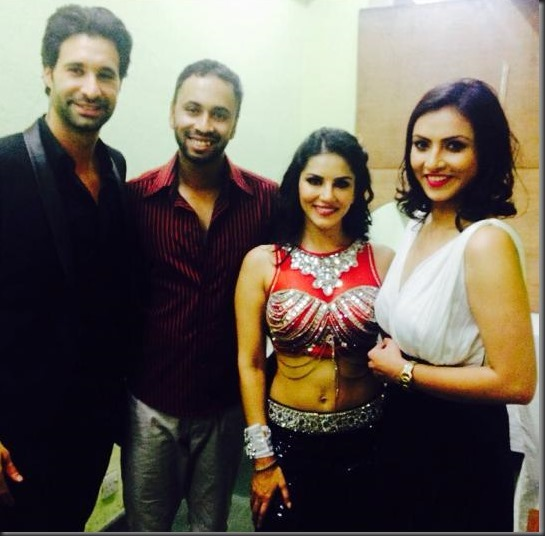 sunny-leone-with-nisha-adhikari- sharad