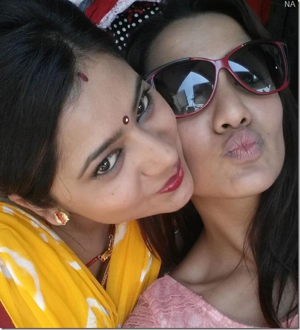 Priyanka karki and keki adhikari fanko
