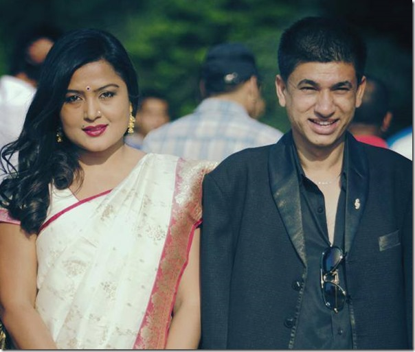 Rekha Thapa and Sudarshan Gautam film award
