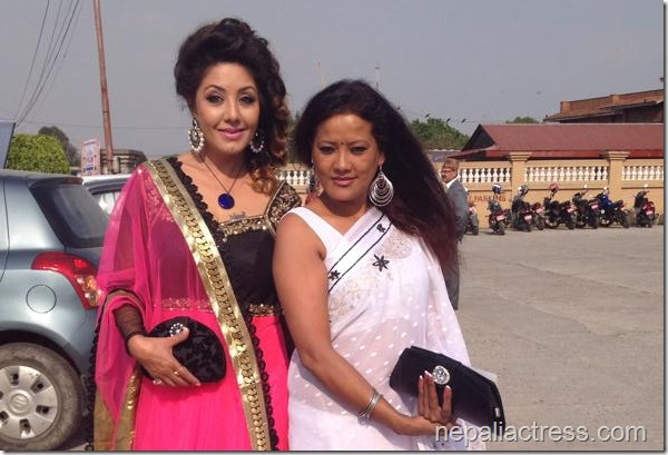 karishma manandar with ritu