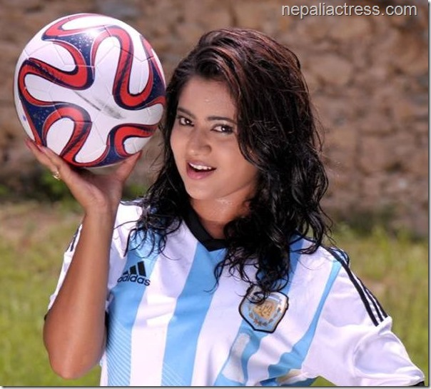 keki adhikari argentina fan worldcup fever