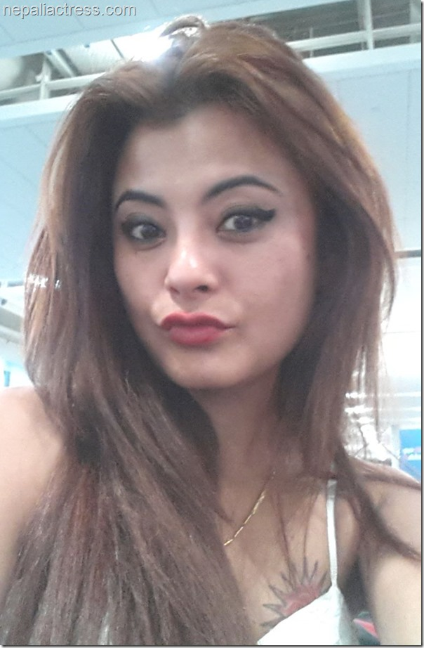 sushma Karki in airport and airlines (2)