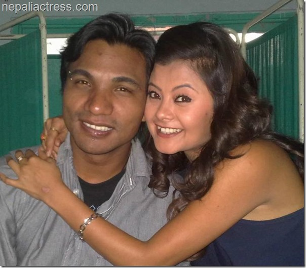sushma karki with niran shrestha boyfriend
