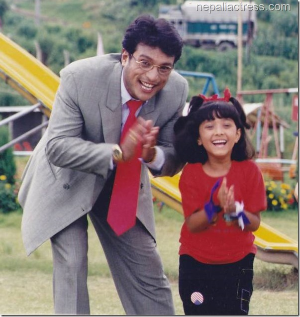 dipti giri with shree krishna shrestha - 2000