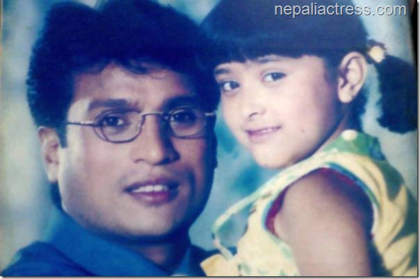 dipti giri with shree krishna shrestha in purnima 2000