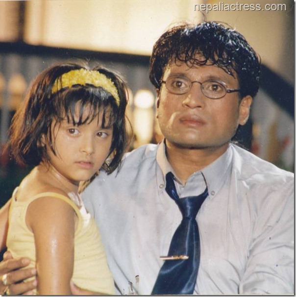 dipti giri with shree krishna shrestha in purnima film