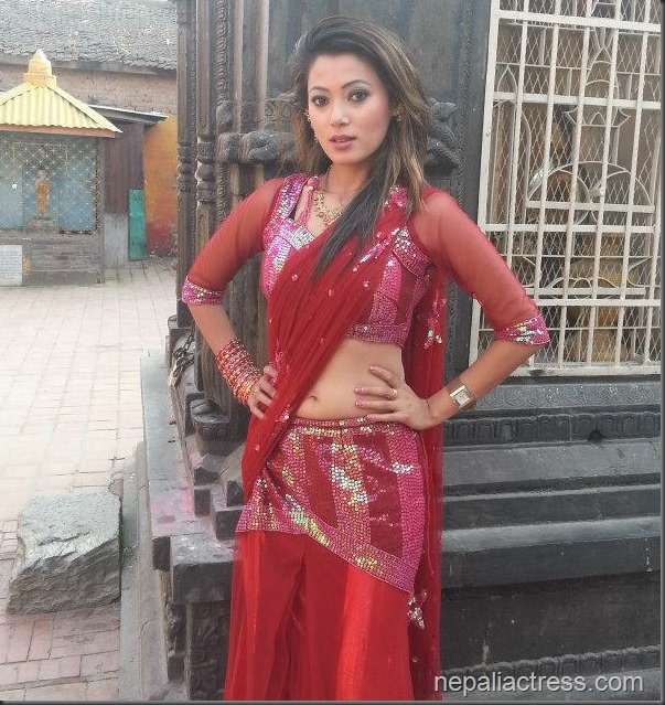 harshika shrestha sexy lehanga