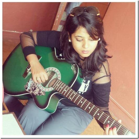 keki learnign guitar lesson