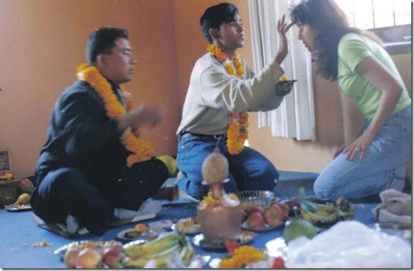 Karishma manandhar and santu tamang