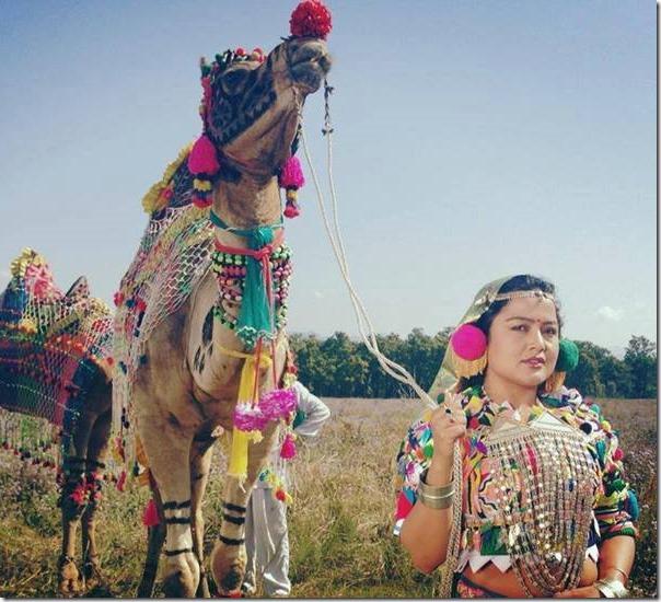 Rekha thapa using camel