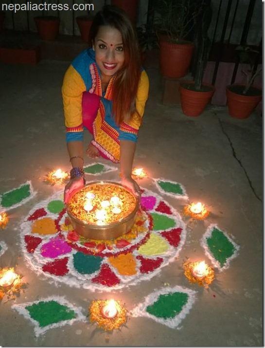 priyanka karki rangoli deepawali 2014 (4)