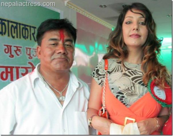 shantu tamang with karishma manandhar 2013