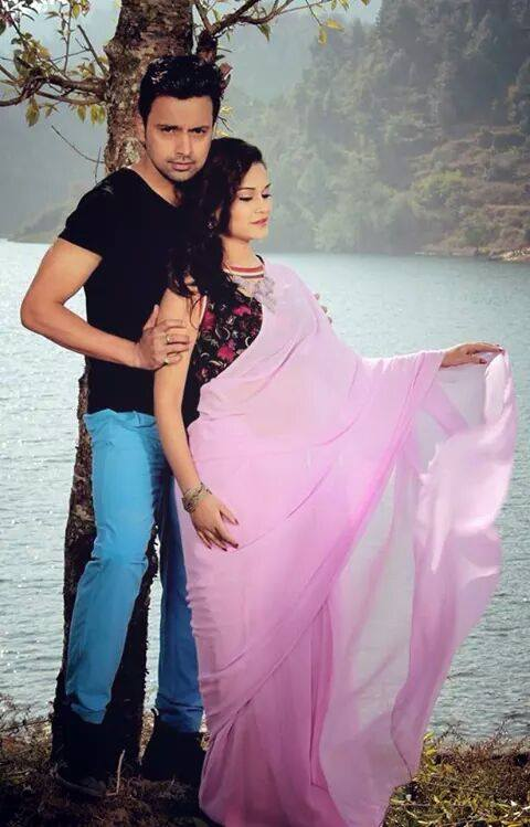 reema bk in prasanna poudel music video with bimalesh
