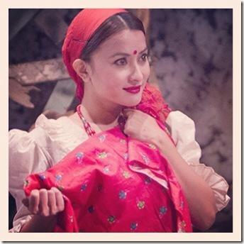 namrata shrestha in theater play