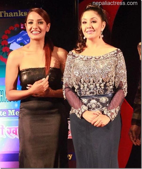 priyanka karki and karishma manandhar kamana film awrds