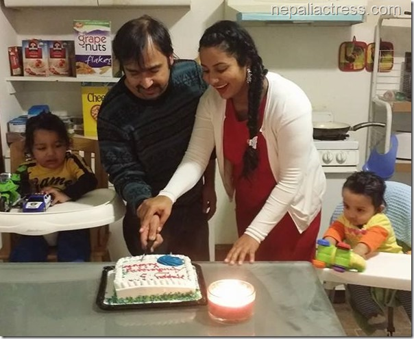 richa ghimire marriage anniversary (1)