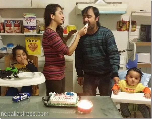 richa ghimire marriage anniversary (6)
