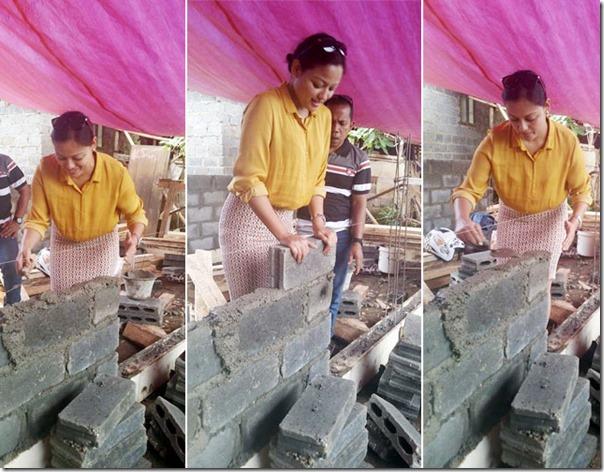 reecha sharma builds house in indonesia