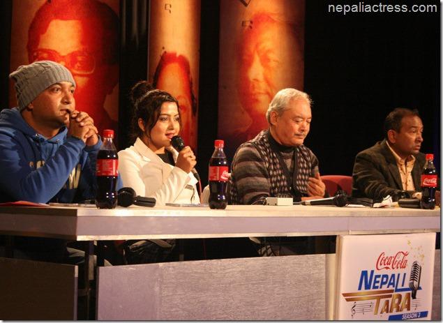 rekha thapa in Nepali tara program