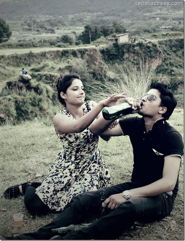 roshan sapkota and sumina ghimire shooting