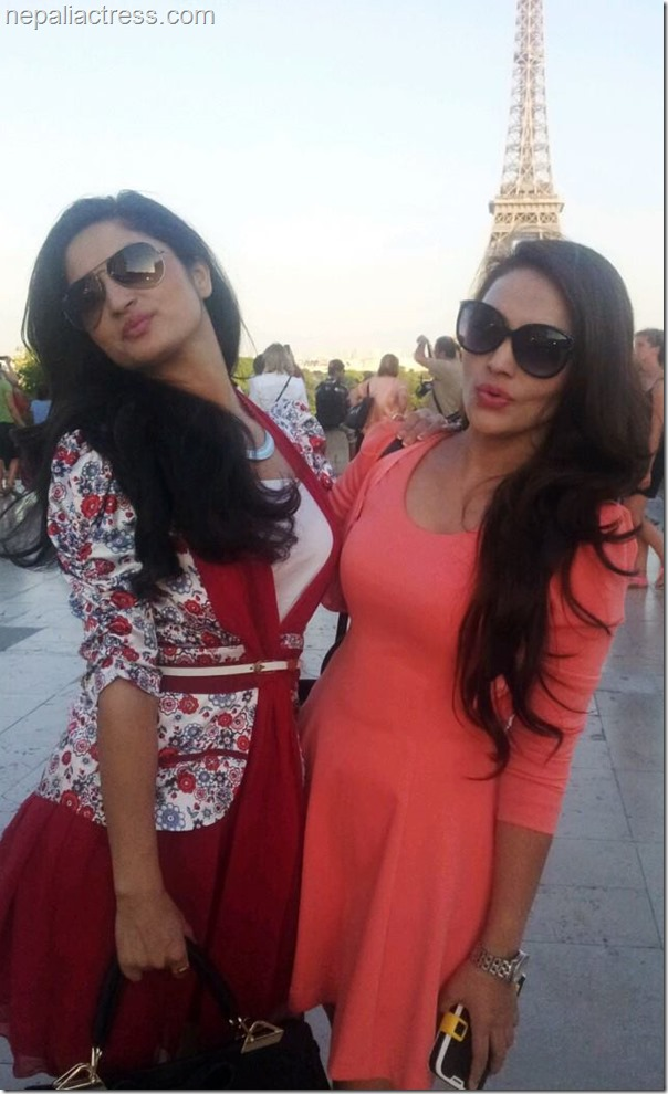 nandita kc and garima pant in pairs