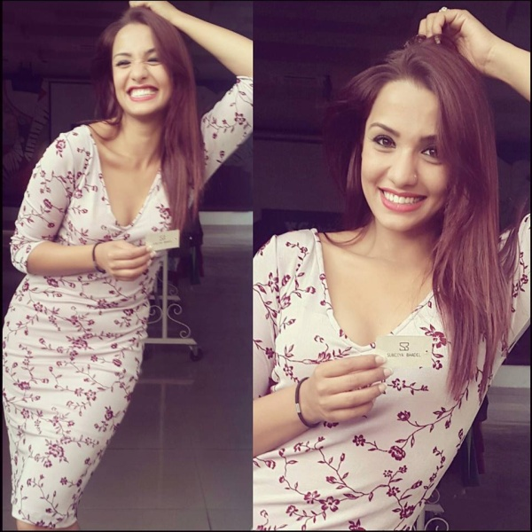 priyanka karki birthday girl buys a new dress