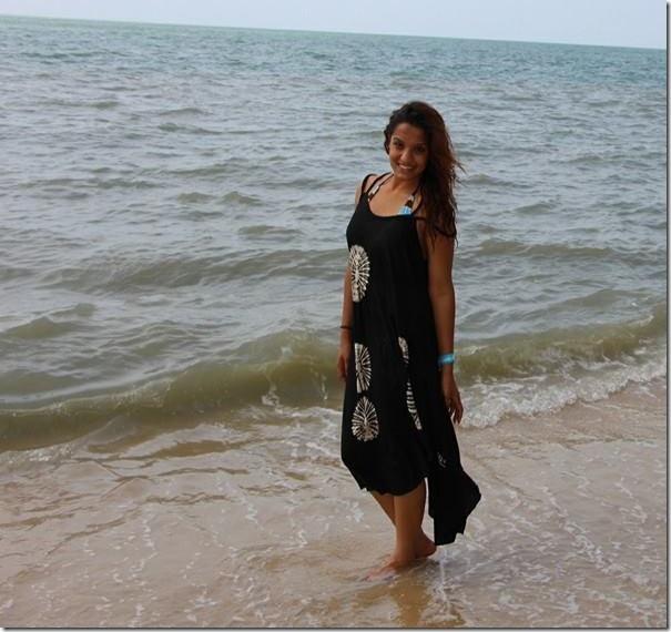 priyanka karki malaysia sea shore (2)