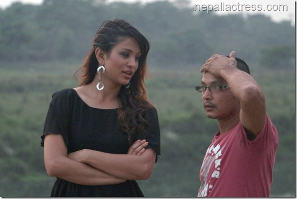 anu shah music video shooting chitwan (2)