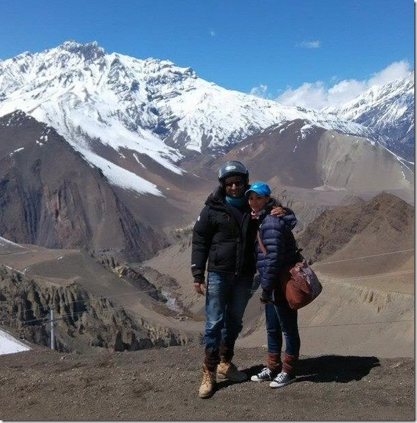 jharana bajracharya couple in mustang