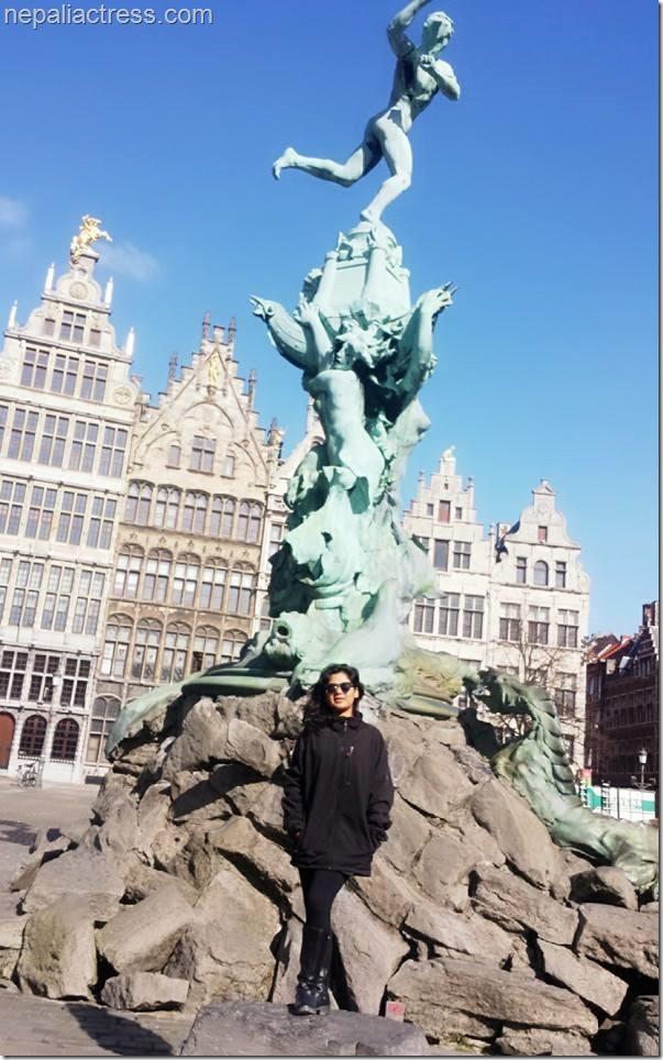 keki adhikari in Belgium..Antwerpen (1)