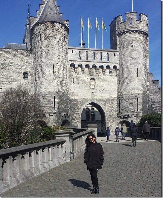 keki adhikari in Belgium..Antwerpen (2)