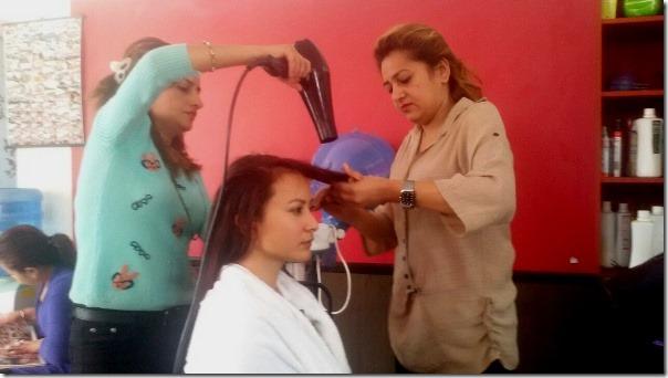 namrata shrestha in hair dresser