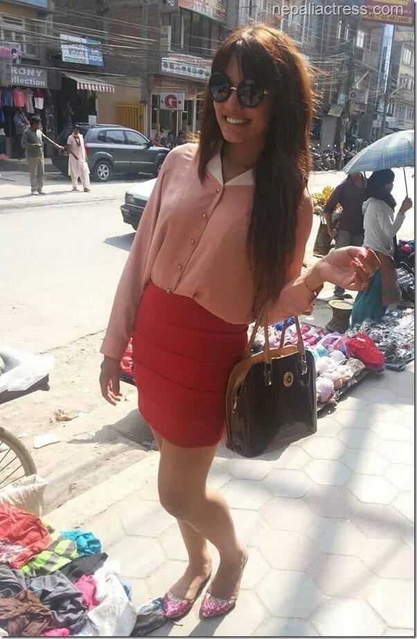 priyanka in street