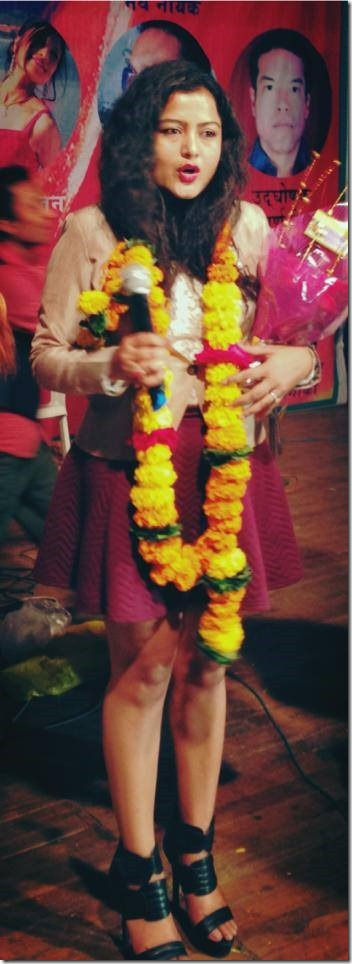 rekha thapa in mumbai march 2015 (1)