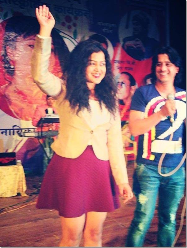 rekha thapa in mumbai march 2015 (5)