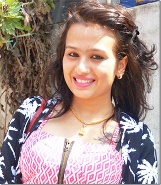 sashi khadka in filmykhabr program