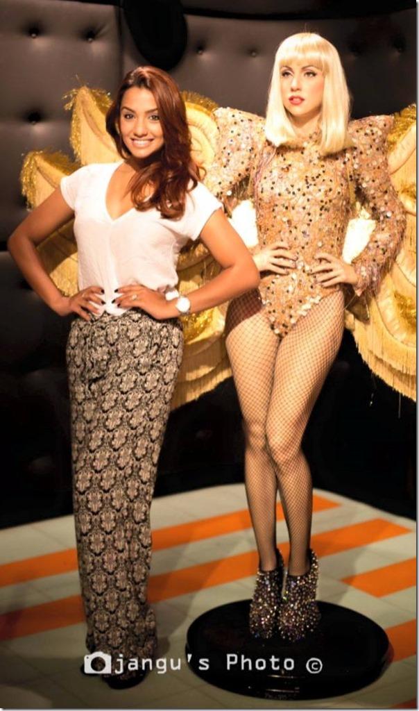 Priyanka Karki in Madame Tussauds Sydney Australia (10)