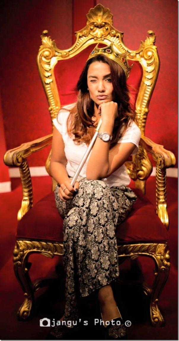 Priyanka Karki in Madame Tussauds Sydney Australia (12)