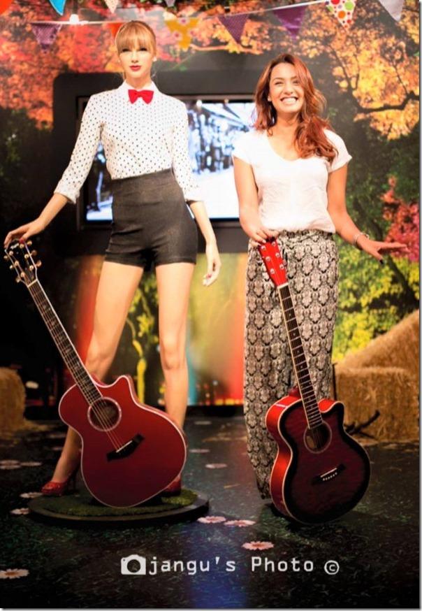 Priyanka Karki in Madame Tussauds Sydney Australia (9)