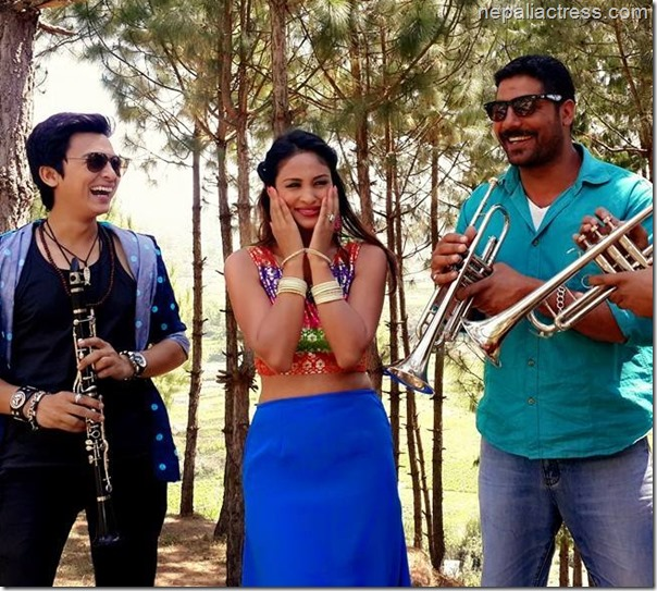anu shah music video shooting  (2)