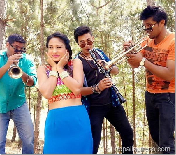 anu shah music video shooting  (3)