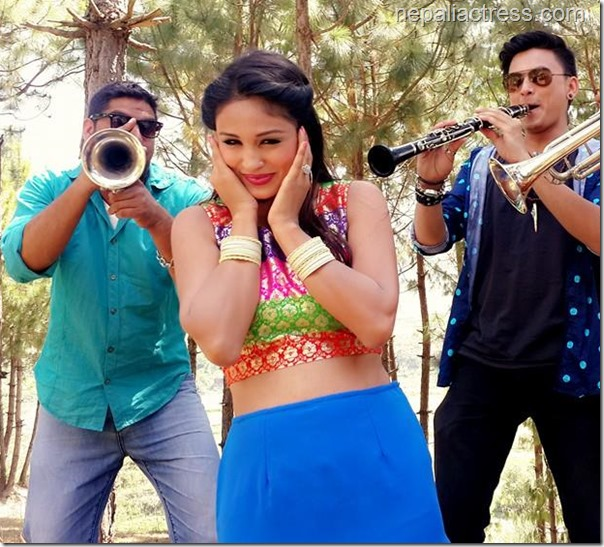 anu shah music video shooting gajale (2)